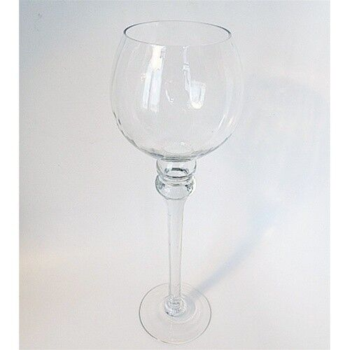 Tall glass cup candle holder wedding centerpiece quot h w