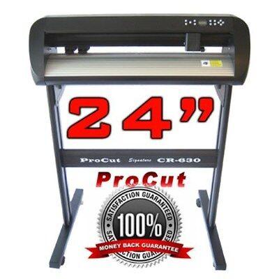 Vinyl Cutter Sticker Plotter Decal Sign Machine Creation ProCut CR0630VSR
