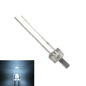 S167-50-pieza-Tower-LED-2mm-BLANCO-TRANSPARENTE-diodos-emisores-de-Luz-Blanco
