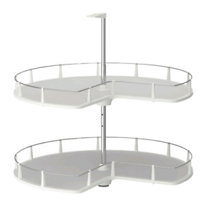 Ikea rationell corner base cabinet carousel