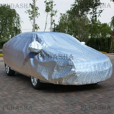 New Full Car Cover Waterproof All Weather Heavy Duty Cotton Lined Material PCHH3