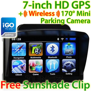New-7-GPS-Car-Navigation-Wireless-Reverse-Camera-Sat-Nav-HD-Portable-iGO-Primo
