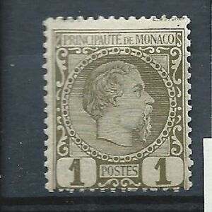 Monaco N° 1*(MH) - France - Monaco N 1(MH) - France