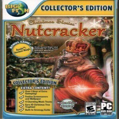 Christmas Stories NUTCRACKER COLLECTOR'S EDITION Hidden Object BONUS Game *New* ()