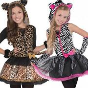Girls Cat Halloween Costumes