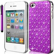 Purple Bling iPhone 4 Case