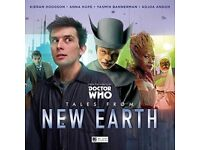 BRAND NEW: Doctor Who - Tales from New Earth Audio CD (Amazon pre-order price is £35)