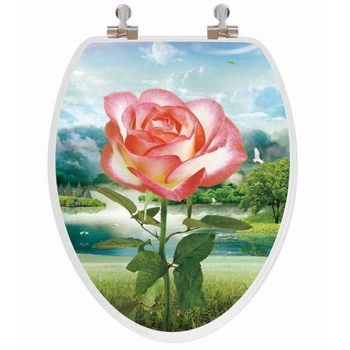 Rose Toilet Seat Ebay