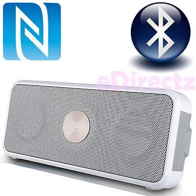 TDK Trek A26 Bluetooth Wireless Outdoor Speaker Mobile EDR Portable NFC White