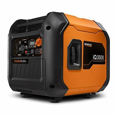 Generac 7127 Iq3500-3500 W Portable Inverter Generator Orange And Black