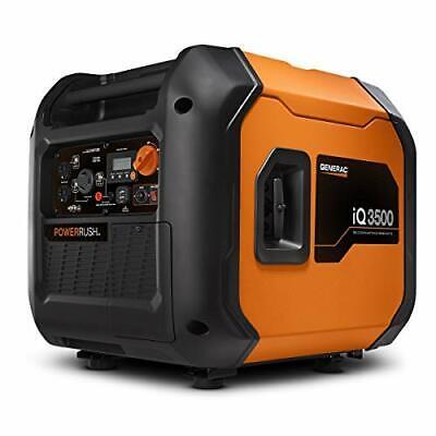 Generac 7127 Iq3500-3500 W Portable Inverter Generator Orange And Black
