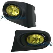 RSX Yellow Fog Lights