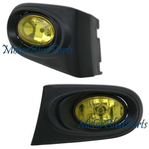 RSX Yellow Fog Lights | eBay