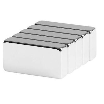 Lot 5 10 50 Super Block Magnets 1x12x14 Inch Rare Earth Neodymium N52