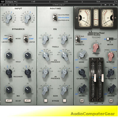 Channel Strip Plug (Waves EMI TG12345 Abbey Road Channel Strip Audio Software Plug-in NEW )