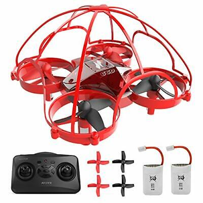 Mini Drone for Kids,Drone for Beginner,Remote Control Drone Toys,360° (Red)