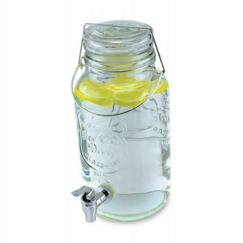 Mason Jar Beverage Dispenser Ebay