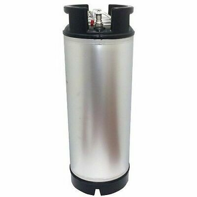 New 5 Gallon Ball Lock Keg With Dual Rubber Handle -draft Beer Coffee Mead Soda