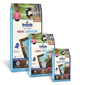 bosch Mini Junior 3 kg High Premium Concept zur Aufzucht kleiner Hunde bis 15 kg