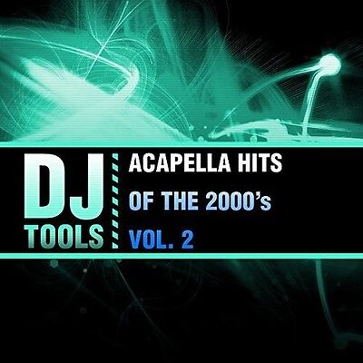 Dj Tools   Acapella Hits Of The 2000S Vol  2  New Cd  Manufactured On Demand