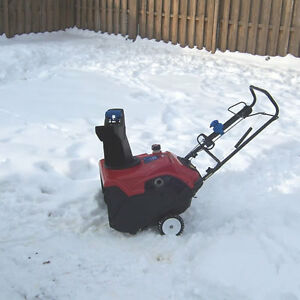 Toro Two Cycle Snowblower