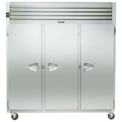 Traulsen G30010 3 Section Reach-in Refrigerator Hinged Leftrightright