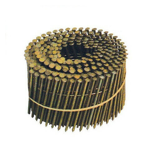 Bostitch 15 Degree Wire Coil Siding Nails (4,200pk) C4R80BDG New