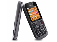 Nokia 100 (Latest Model) - Phantom Black (Unlocked) Mobile Phone - FULLY TESTED & WORKING