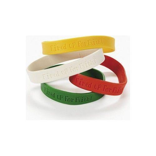 Christian Rubber Bracelets Ebay
