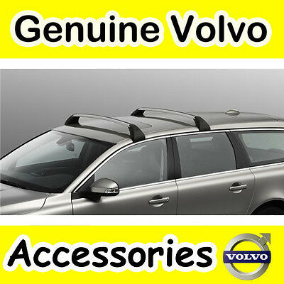 Square Profile Genuine XC60 Load Carrier//Roof Bars For Rails -17