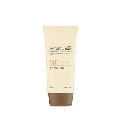 [THE FACE SHOP] Natural Sun Eco Super Perfect Sun Cream SPF50+ PA+++ (The Face Shop Super Perfect Sun Cream)