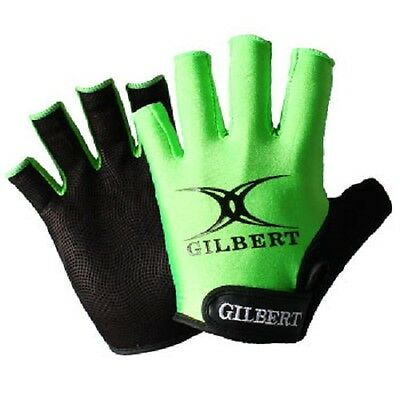 Gilbert Synergie Rugby Gloves Size Large Fingerless