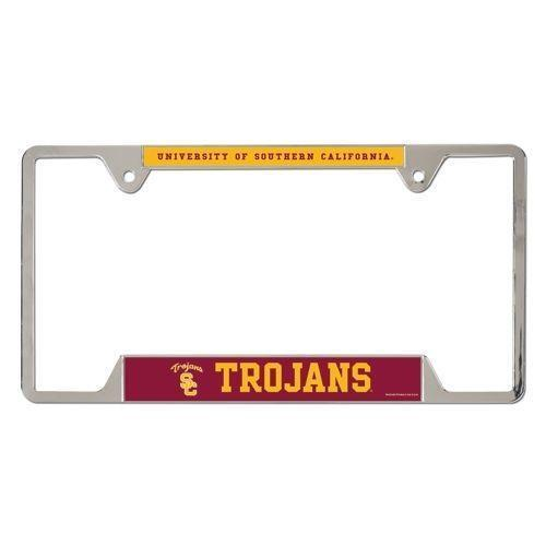 usc license plate frame ebay