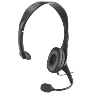 Open Box Insignia Headset With Microphone (NS-PAH5101-C)