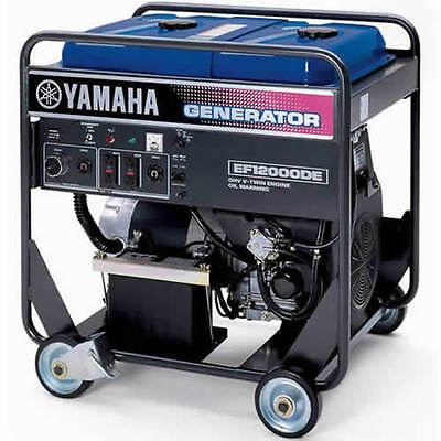 Yamaha Ef12000de - 9500 Watt Electric Start Portable Generator