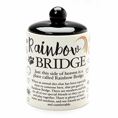 Enesco Our Name is Mud Rainbow Bridge Small Pet Urn 4.5 Inch