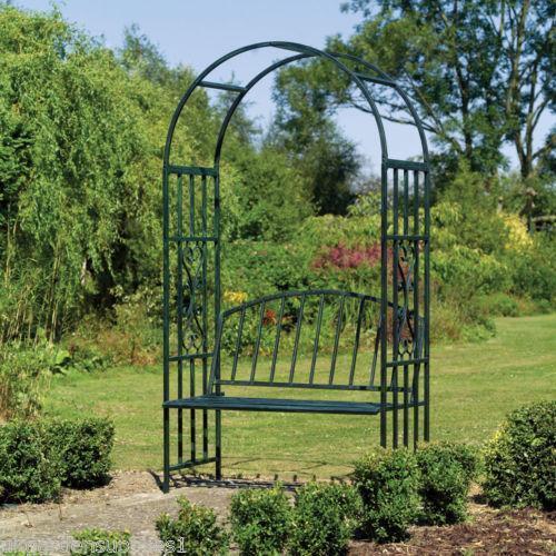 Garden Arch Seat Ebay