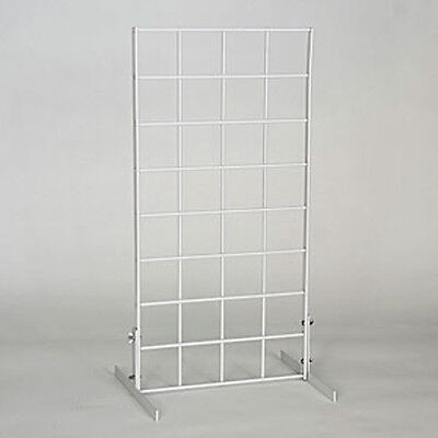 New Retails White Gridwall Countertop Displays Countertop Grid Unit 1wx2h
