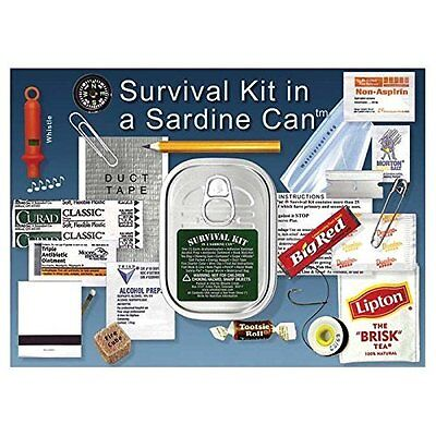 Whistle Creek Survival Kit In A Sardine Can ()