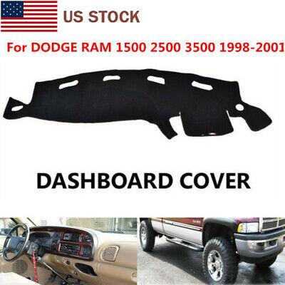 Dash Cover Mat For Dodge Ram 98 99 01 Dashboard Skin Cap Mat Carpet High quality