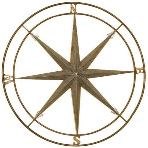 Compass Wall Decor Ebay