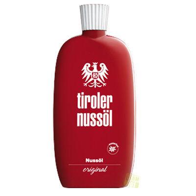 Tiroler Nussöl original Lichtschutzfaktor 0 150 ml