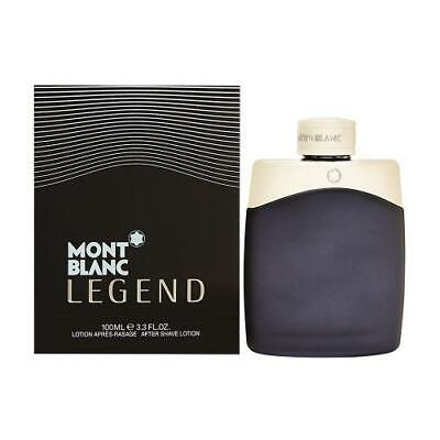 MONT BLANC LEGEND 100ML AFTERSHAVE LOTION BRAND NEW & SEALED
