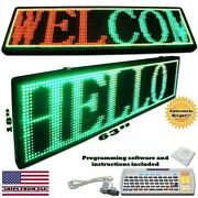 LED Message Sign