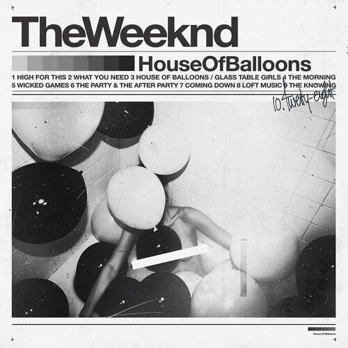The Weeknd - House of Balloons [New Vinyl] Explicit