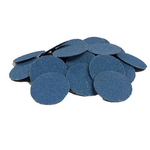 """50- 2"""" Roloc Zirconia Quick Change Sanding Disc R-Type"""