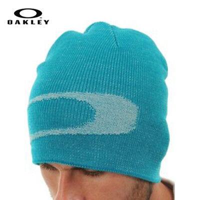Snowboard Beanie Hat New Skateboard - Oakley Cascade Slouch Hat Cap Beanie NWT Blue OS Skateboard Snowboard Streetwear