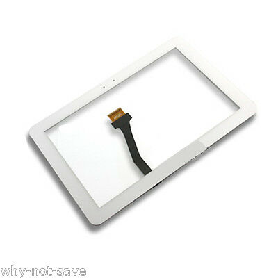 agptek Glass Screen Digitizer Replacement For White Samsu...
