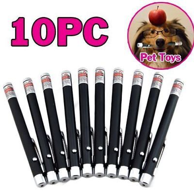10PCS Hot 5mw 650nm Powerful Military Visible Light Beam Red Laser Pointer Pen
