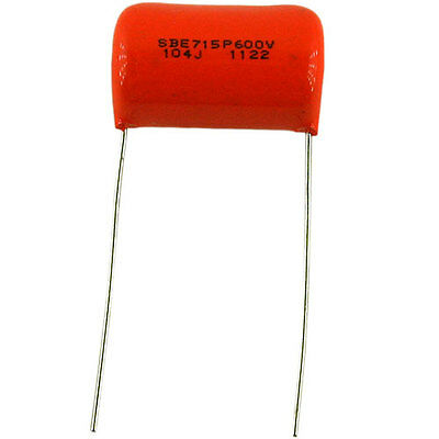 Sprague 715p Orange Drop Capacitor .1f 600vdc